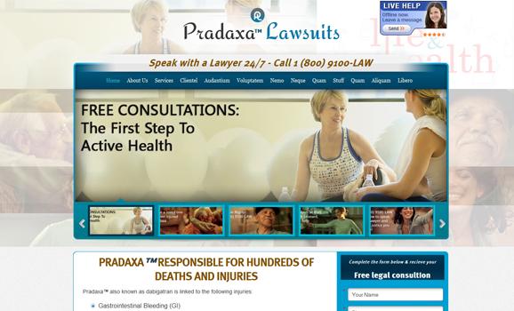 pradaxalawcenter web design wordpress development
