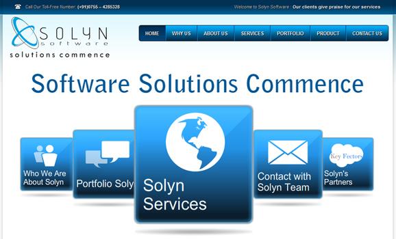solynsoftware.com web development company india