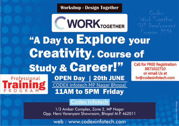 workshop on web designing « Codex Infotech website design